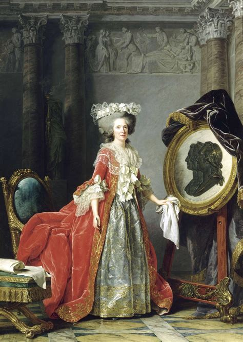 Who Was The Painter And Decorator Of Versailles Palace by Portrait De La Duchesse De Polignac Panorama De L
