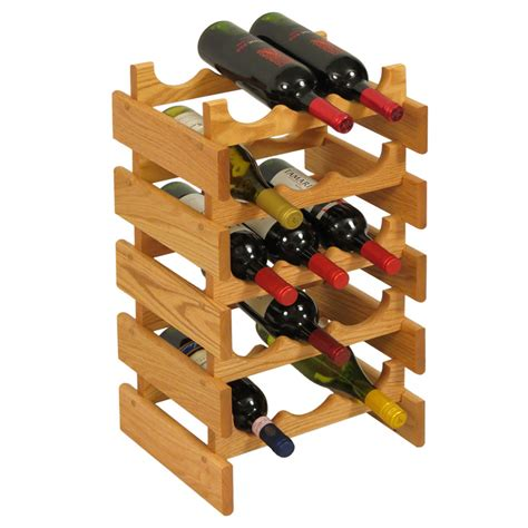 Wine Bottle Rack by 15 Bottle Wine Rack In Wine Racks