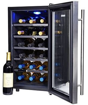 newair wine cooler  refrigerator  bottle review
