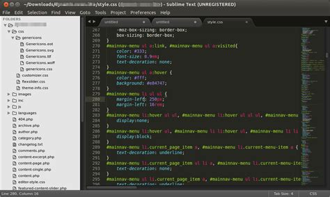sublime text 3 themes ubuntu file icons change to asterisk technical support