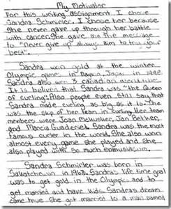 My Book Essay For Class 5 by Grade 5 Writing Exemplar 3b