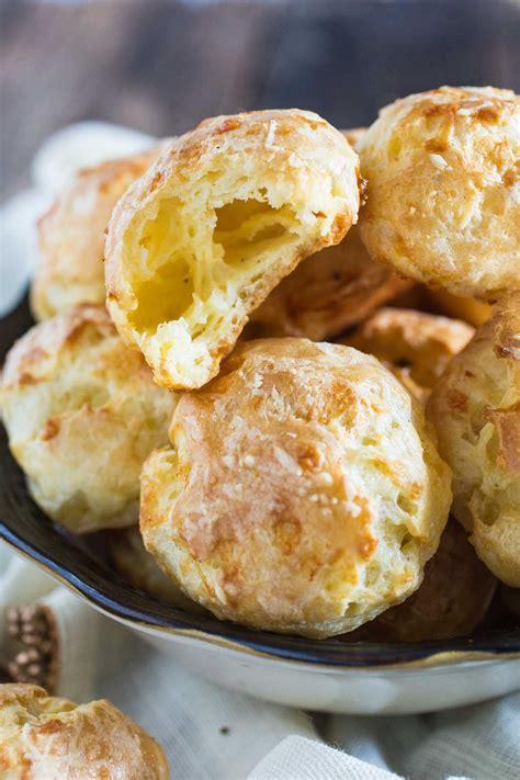 Puff Cheese gougeres cheese puffs recipe dishmaps