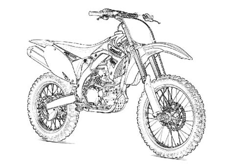 kawasaki ninja coloring pages kawasaki dirt bike coloring pages coloring pages