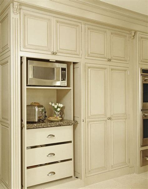 kitchen microwave pantry storage cabinet 25 best ideas about microwave cabinet on pinterest