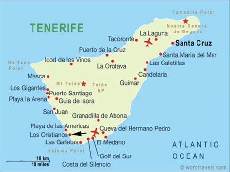 printable map tenerife word travels travel guide destination guides for the