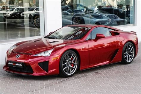 lexus maroon unique red lexus lfa for sale gtspirit