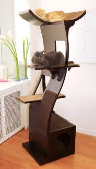 Lotus Cat Tree Lotus Cat Tower From The Refined Feline Modern Luxury
