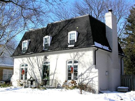 french roof styles mansard roof and painted brick neo mansard pinterest