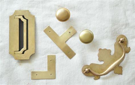 Brass Furniture Hardware brass hardware polishing and faking it centsational