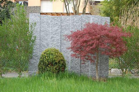 Garten Sichtschutzwand by Granit Stelen F 252 R Sichtschutzwand Im Garten St Basads Ch