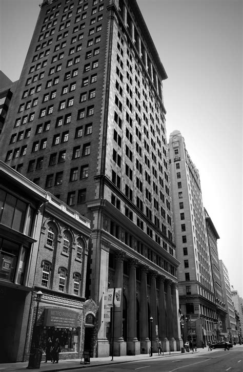 big buildings in black white the lazy photographer