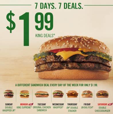 burger king daily deals canada 2018 samurai blue coupon