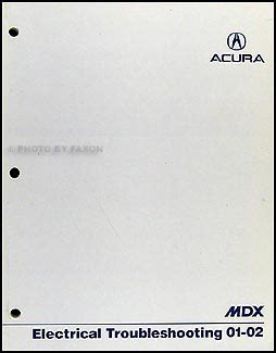 electric and cars manual 2001 acura mdx parental controls 2001 2002 acura mdx electrical troubleshooting manual original