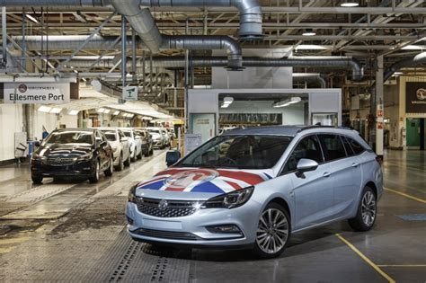 opel productions vauxhall astra sports tourer production start gm authority