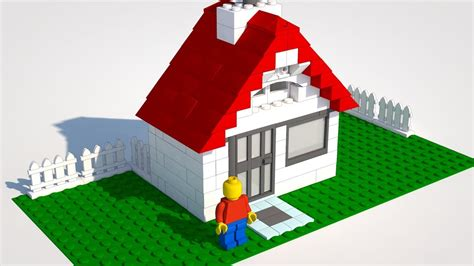How To Build A Lego House A Digital Manual   YouTube