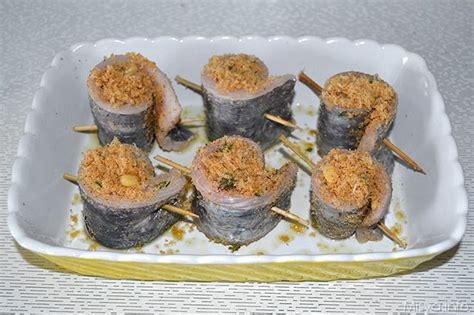 cucinare pesce spatola 187 involtini di pesce spatola ricetta involtini di pesce
