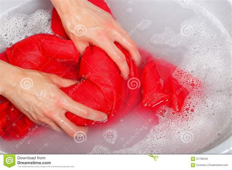 Washing Clothes By In Bathtub by Washing Clothes Stock Photo Image 57790345