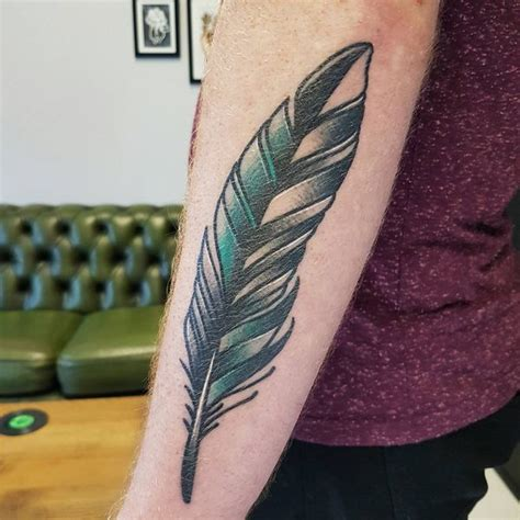 pen tattoo meaning 40 feather tattoo designs with meaning