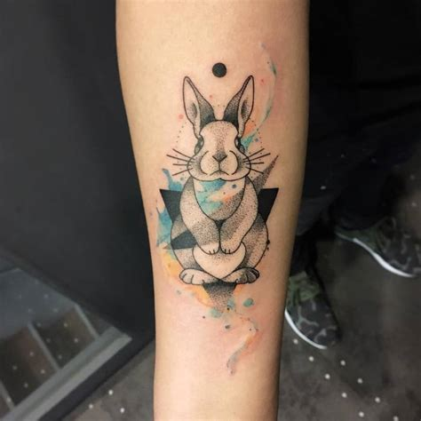 40 adorable rabbit tattoo design ideas tattoobloq