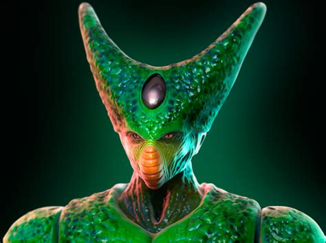 dbz cell imperfect more dbz pics http www imperfect cell 3 by alexandrealagoa on deviantart
