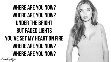 alan walker where are you now lyrics alan walker faded sara farell cover lyrics youtube