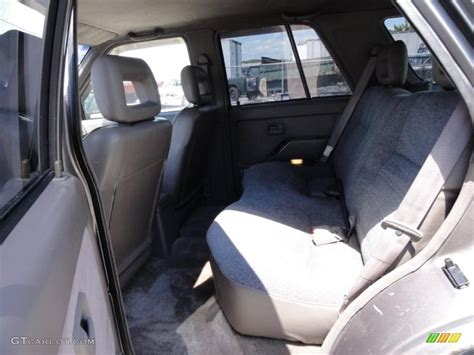 Gray Interior Gray Interior 1994 Honda Passport Lx 4x4 Photo 49087374