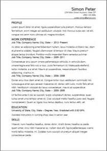 resume building app