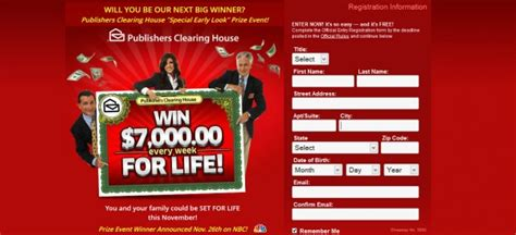 How Can Publishers Clearing House Afford - what would you do with 7000 a week forever momdot