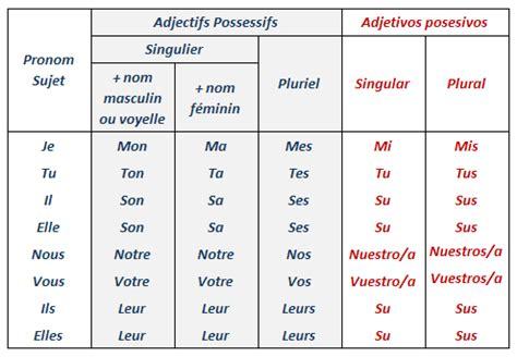 tice en fle: les adjectifs possessifs et les démonstratifs