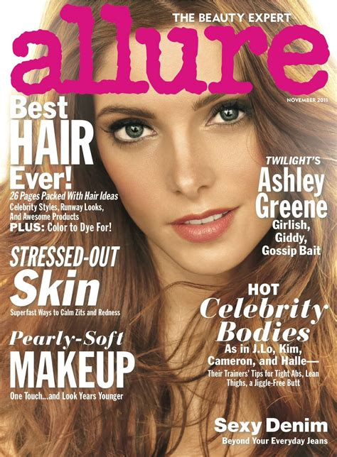ashley greene magazine cover allure magazine cover 2011 ashley greene photo 26180827