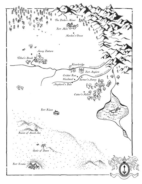 woodge.com fantasy maps collection