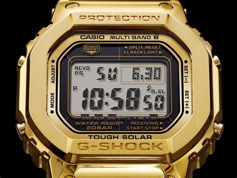 the solid 18 karat gold g shock 5 casio news parts