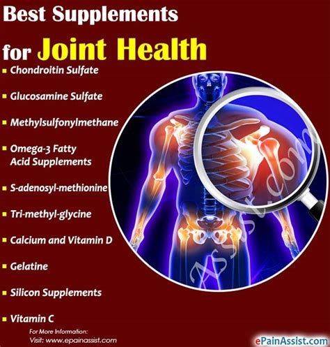 supplement joint health the best supplements for joint health