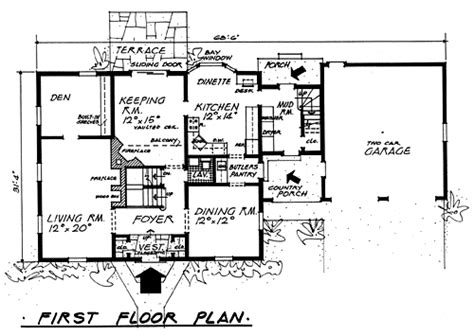 classic saltbox house plans plan 5196colonial