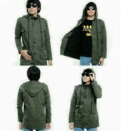 Jaket Parka Wanita Variant Warna 1 jual jaket parka hijau santai shop