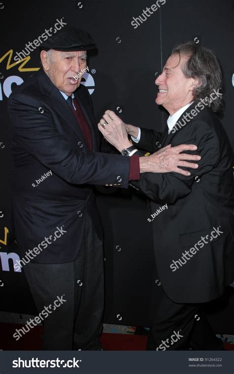 The Madness Of Method carl reiner richard lewis at the premiere of encore s