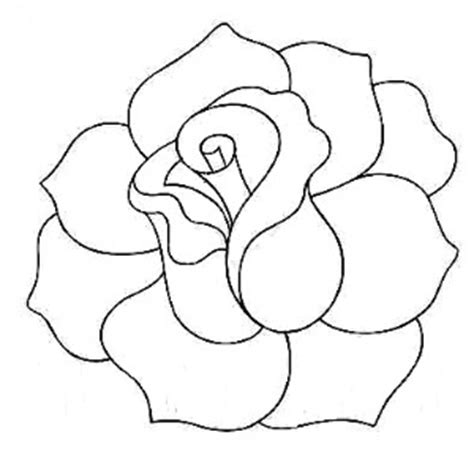pattern drawing rose rose line quilting pattern could use for appliqu 233 as well