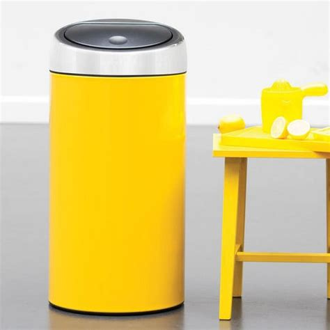 beyond stainless steel colorful kitchen trash cans from - Yellow Kitchen Trash Can