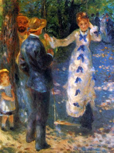 pierre auguste renoir the swing the swing la balan 231 oire 1876 pierre auguste renoir