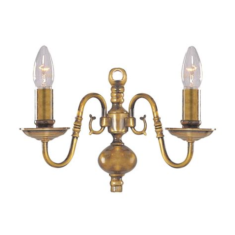 Traditional Wall Lights Buy Flemish Traditional Antique Brass Wall Light