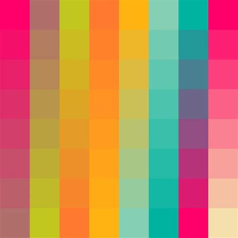 psychedelic colors psychedelic color palette removable wallpaper gcse