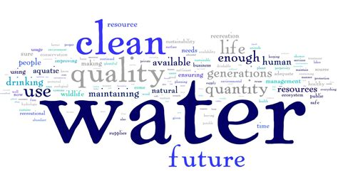 what does water mean what does water sustainability mean to you
