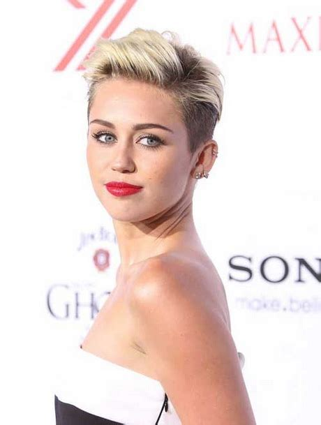 what is the name of miley cryus hair cut miley cyrus short haircut