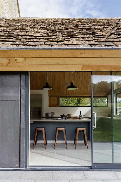 Cottage Kitchen Extensions by Extension And Renovation Of A Listed Cottage