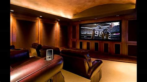 Best Home Theatre Room Design Youtube Best Home Theater Design