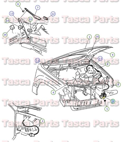 Parts For 2004 Jeep Grand Brand New Oem Mopar Latch 1999 2004 Jeep Grand