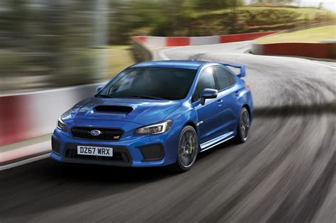 subaru sti 2018 subaru wrx sti edition says goodbye to an era