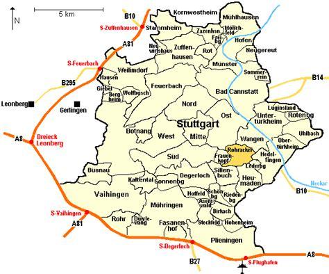 stuttgart map germany the klein family centre place of origin rohracker