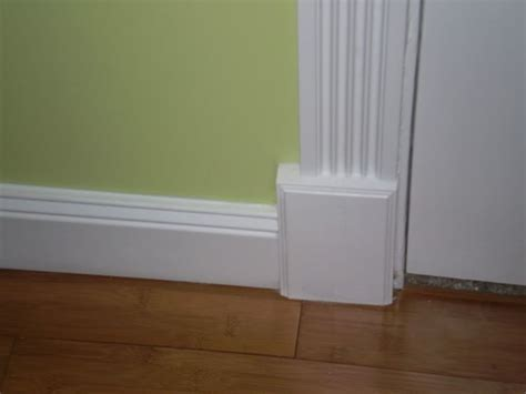 Interior Door Trim Ideas Depiction Of The Baseboard Styles That Maintain The Visual