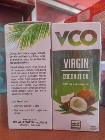 vco vco oil vco al afiat virgin coconut oil vco